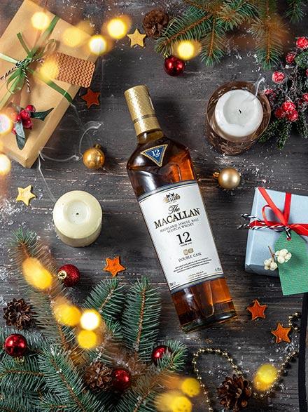 Виски Macallan к новому 2021 году