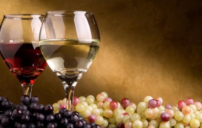 Вино различного цвета