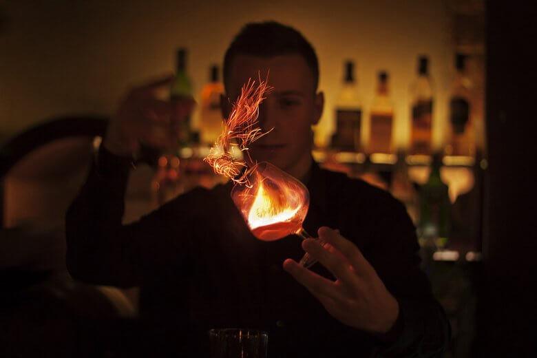 горящая самбука