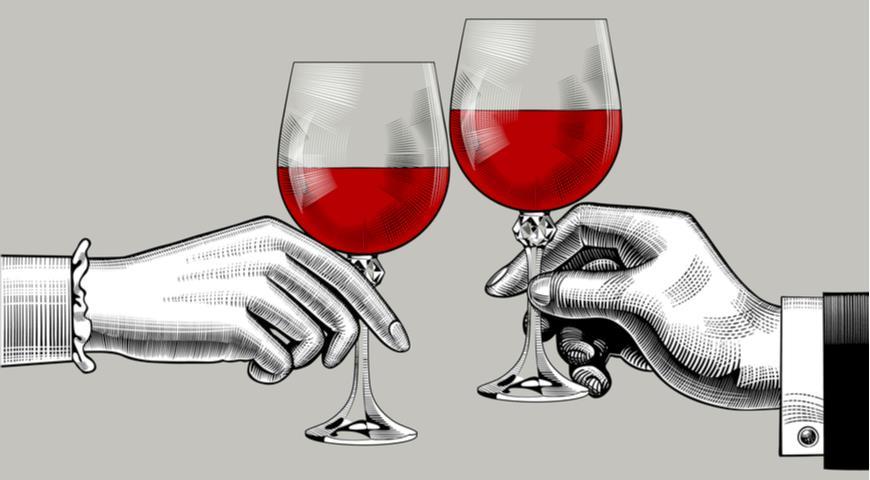 вино и русская кухня