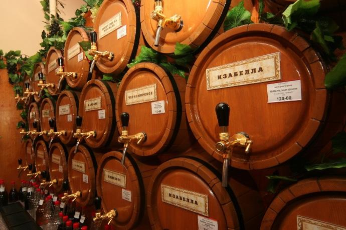 Бочки для разливного вина