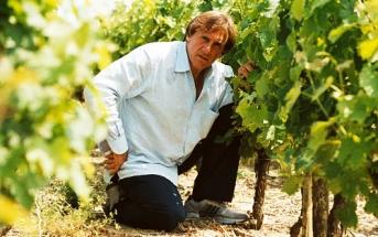 Жерар Депардье на своем винограднике