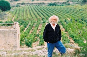 Пьер Ришар на своем винограднике