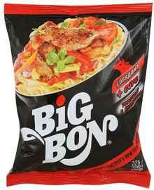 Лапша «Биг-Бон говядина + соус томатный с базиликом» 75 гр.