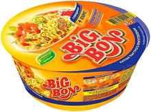 Лапша «Биг-Бон говядина с томатным соусом» 85 гр.