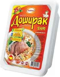 Лапша «Доширак с говядиной» 90 гр.
