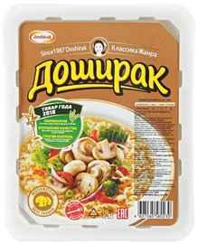 Лапша «Доширак со вкусом грибов» 90 гр.