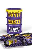 Леденцы «Toxic Waste Purple Sour candy» 42 гр.