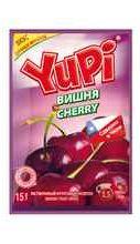 Растворимый напиток «YUPI Вишня »