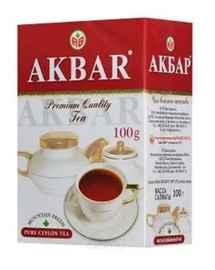 Чай листовой «Акбар чёрный» 100 гр.