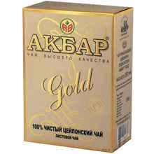 Чай листовой «Акбар золотой» 100 гр.
