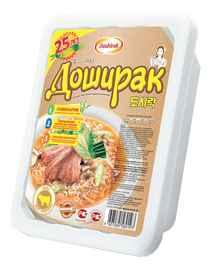 Лапша «Доширак со вкусом телятины» 90 гр.