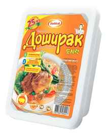 Лапша «Доширак со вкусом свинины» 90 гр.