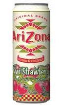 Газированный напиток «Аризона Киви Клубника»