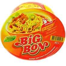 Лапша «Биг Бон курица + соус сальса» 85 гр.