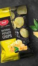 Чипсы «Бруто нежный сыр» 150 гр.