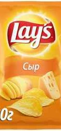 Чипсы «Lay's Сыр картофельные» 80 гр.
