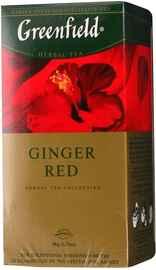 Чай пакетированный «Гринфилд Гингер ред каркаде» 25 пакетиков