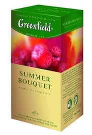 Чай пакетированный «Гринфилд саммер букей» 25 пакетиков