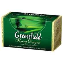 Чай пакетированный «Гринфилд Флаин драгон зеленый» 25 пакетиков