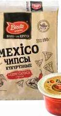 Начос «Крафт Мехико со вкусом сальса» 150 гр.