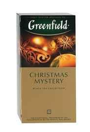 Чай пакетированный «Гринфилд Кристмас Мистери» 25 пакетиков