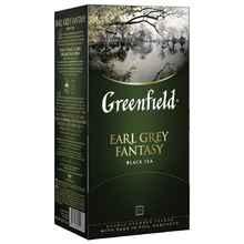 Чай пакетированный «Гринфилд Эрл грей черный» 25 пакетиков