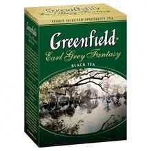 Чай листовой «Гринфилд Эрл грей черный» 100 гр.
