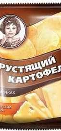 Чипсы «Хрустящий картофель сыр» 160 гр.