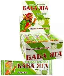Жевательная резинка «Баба Яга яблоко»