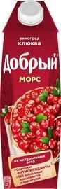 Сок «Морс виноград клюква»
