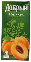 Сок «Добрый абрикос»