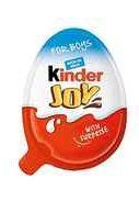 Шоколадное яйцо «Kinder Joy с игрушкой для девочек»