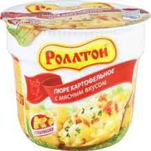 Пюре «Ролтон с мясным вкусом» 40 гр.
