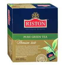 Чай пакетированный «Riston зеленый» 100 пакетиков
