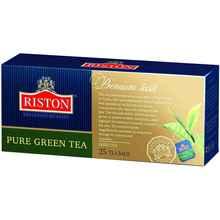 Чай пакетированный «Riston зеленый» 25 пакетиков