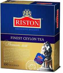 Чай пакетированный «Riston Файнест Цейлон черный» 100 пакетиков