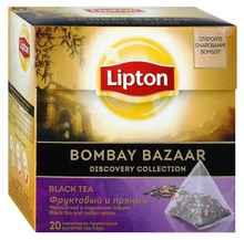 Чай пакетированный «Lipton Bombay Bazaar» 20 пирамидок