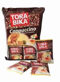 Кофе растворимый «Кофе ТОРАБИКА капучино с доп.пакетиком шок. крошки» 25 гр.