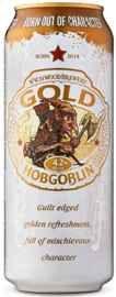 Пиво «Wychwood Hobgoblin Gold» в жестяной банке