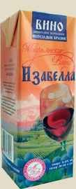 Вино столовое красное полусладкое «РПК Красноармейский Изабелла»