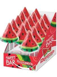 Леденцы «Sweet Bar Арбуз» 40 гр.