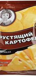 Чипсы «Хрустящий картофель сыр» 70 гр.