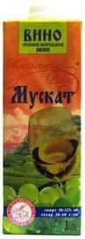 Вино столовое белое полусладкое «РПК Красноармейский Мускат»