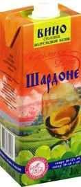 Вино столовое белое  полусладкое «РПК Красноармейский Шардоне»