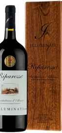 Вино красное сухое «Illuminati Montepulciano d Abruzzo Riparosso» 2018 г. в деревянной коробке