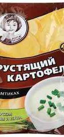 Чипсы «Хрустящий картофель сметана лук» 160 гр.