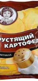 Чипсы «Хрустящий картофель соль» 160 гр.