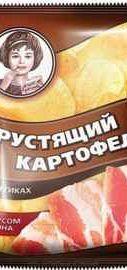 Чипсы «Хрустящий картофель бекон» 160 гр.