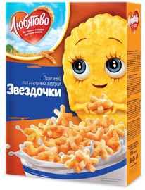 Завтрак «Любятово Звездочки медовые» 200 гр.